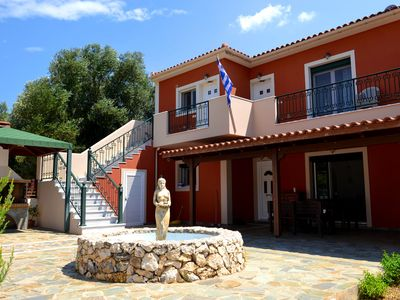 Photo for Kefalonia apartments: nice, spacious 1 bedroom apartments 2 km to Pessada beach