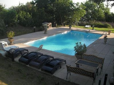 Photo for Small PARADISE IN THE HEART OF AUVERGNE with SWIMMING POOL L'Heronier