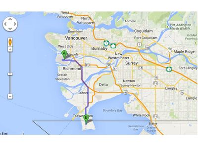 In great Vancouver area, only 25 min to YVR