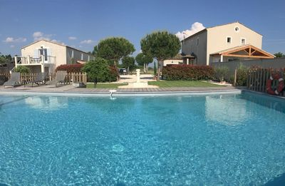 Photo for RELAXING HOLIDAY HOUSE - 2 SWIMMINGPOOLS - IN BETWEEN PROVENCE AND NÎMES AREA