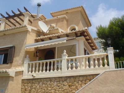 Photo for 2 bedroom Villa, sleeps 4 with Pool and Air Con