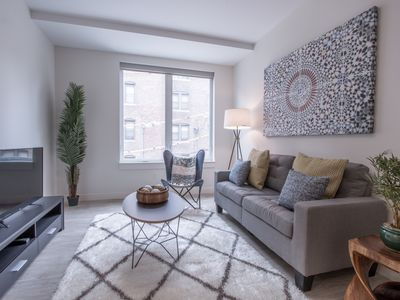 Photo for Modern 1BR in Fenway by Sonder