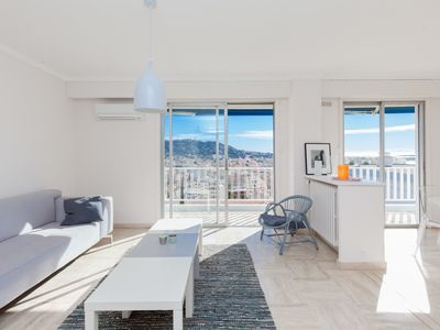 Photo for BRIGHT APARTMENT WITH SEA VIEW CLOSE TO THE PORT