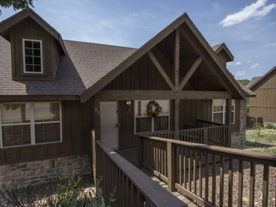 Photo for Whispering Pines - 2 Bed 2 Bath Lodge close to Branson and Silver Dollar City