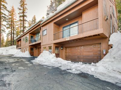 Photo for Private three-level town home features deck and  gourmet kitchen!