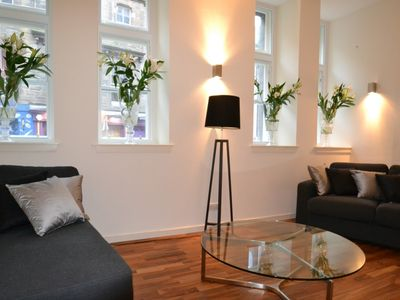 Photo for Grassmarket .Fantastic flat for the festival.