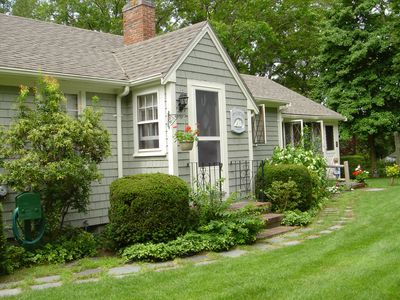 Photo for Charming Cape Cod Cottage- breezy, bright and peaceful
