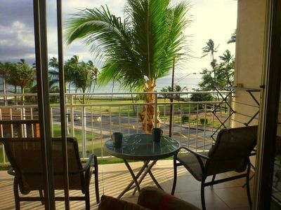 Photo for Gorgeous 1 bdrm condo with ocean view Island Surf 407