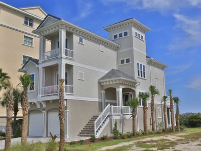 Photo for Atlantic Star in Cinnamon Beach!   Direct Oceanfront Private Home Paradise!