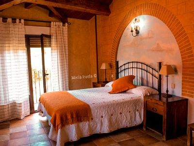 Photo for Rural apartment El Vallejo for 2 people