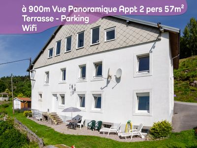 Photo for Spacious and quiet cottage 2 Pers. 57m² Facing south. Panoramic view. La Bresse WiFi