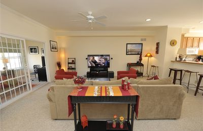 Living area in main level