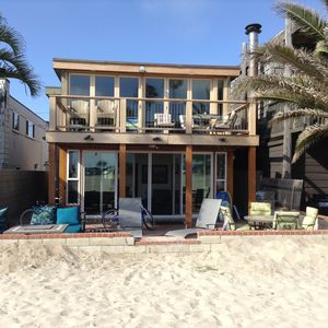Photo for BEACHFRONT, OCEAN VIEW, South Mission