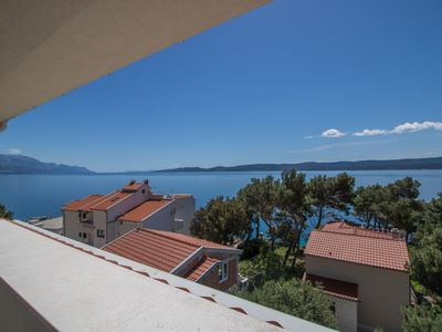 Photo for Stylish penthouse - top sea view - close to the beach