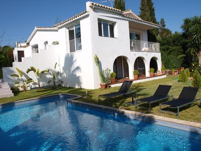 Photo for Boutique luxury villa in Marbella with great sea views-MarbellaVillaForRent.com