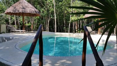 Photo for Pura Vida Cancun - Private Bedroom and pool in the jungle