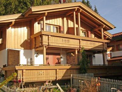 Photo for Vacation chalet in Sachrang in a quiet location
