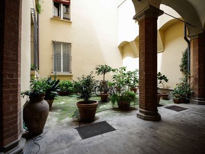 Photo for Spacious and comfortable apartment in excellent location in the historic center of Bologna