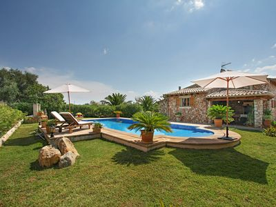 Photo for Binibona Holiday Home, Sleeps 4 with Pool, Air Con and Free WiFi