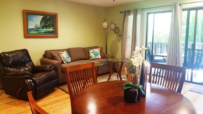 Photo for Old Hawaii at It's Best-Across from BEACH!** PRIME POPULAR CONDO**AirConditioned