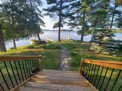 Photo for Lake House on Buck! Clear fresh water and Classy Cottage