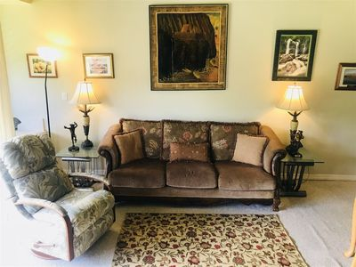 Photo for Golfers and families will appreciate the comfort of this well decorated and clean condo located with