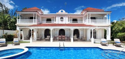 Photo for Fosters House  -  Beach Front - Located in  Wonderful Saint James with Private Pool