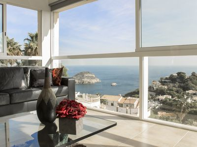 Photo for Luxury villa with outstanding ocean views in Balcon al Mar .Saturday changeover