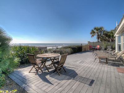 Photo for New Listing! Gulf Front Stunner with Designer Interiors 0.5 Miles to Seaside