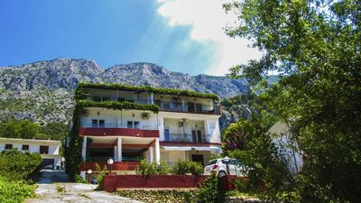 Photo for One bedroom apartment with balcony and sea view Živogošće - Porat (Makarska)