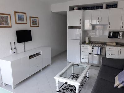 Photo for 1 bedroom apartment with WI-FI and air conditioning, 100 m. all the way to the beach