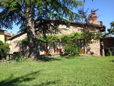 Photo for Our apartment is located between the beautiful Tuscan hills.