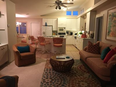 Photo for Beautiful spacious 3 bedroom, 2 1/2 bathroom  home with private pool and spa.
