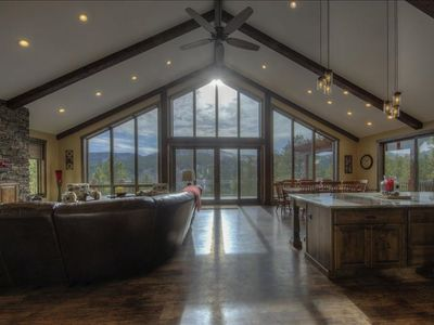 Photo for Views all around, paved roads, near deadwood, hot tub, Aspen Valley willl not dissapoint.