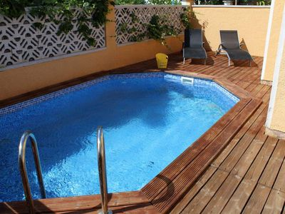 Photo for Montgri 163 HOUSE WITH POOL AND PRIVATE JACUZZI