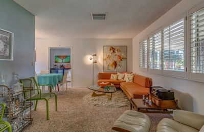 Traditional 60s living room
