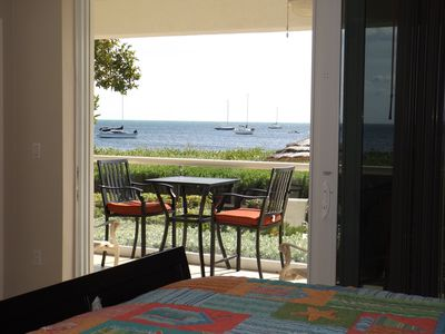 Photo for Ocean View Mariners Club Beachfront Luxury and Steps to the Sand and Lagoon Pool