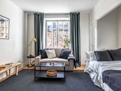 Photo for Vibrant apartment in Stockholm's coolest area