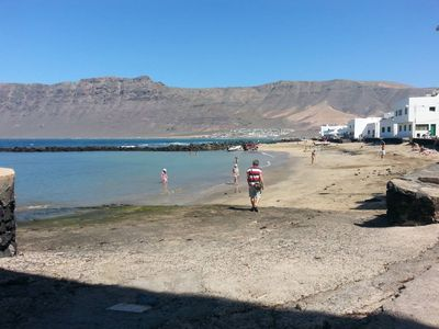 Photo for Quiet apartment in Famara beach