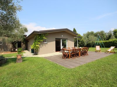Photo for VILLA ROSETI - Charming Country House + Garden + Lake VIEW + access to the BEACH