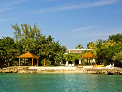 Photo for Seagrapes Villa : Luxury : 5 Staff : Pool :Tennis Court and Private Beach