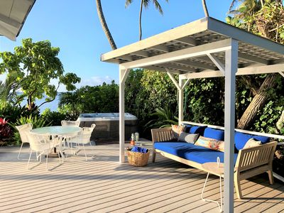 Beachfront | Hot Tub | A/C | BBQ | Honolulu | $795 Last Min Special!