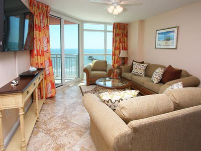 Photo for Prince Resort II - Gorgeous Ocean Views From This Completely Remodeled Condo