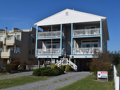 Photo for Ocean Block Dewey Beach 4BR Townhome w/ Ocean Views Private Parking Decks and Grill