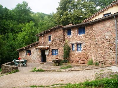 Photo for House for 8 persons with community pool near Olot surrounded by nature