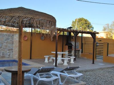 Photo for Casa Los Abuelos for 6 people with WiFi and private pool and fenced