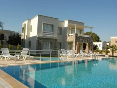 Photo for Torba Residence  - 2+1 Flat with pool in Torba, beachside
