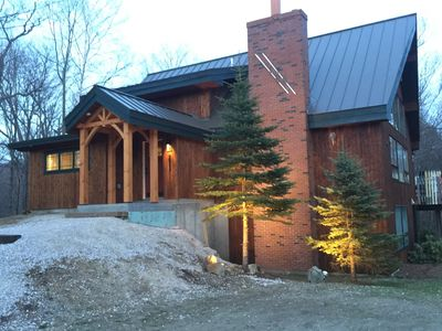 Photo for LUXURY,  Perfect for GROUPS! hot tub, deck and yard! Take a look! CEDARWALK