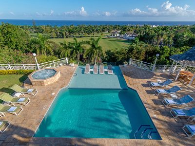 Photo for BUTLER! CHEF! HEATED POOL! BEACH MEMBERSHIP! Fairway Manor - Montego Bay 6BR