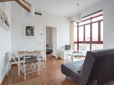 Photo for Bright one bedroom apartment with balcony,
